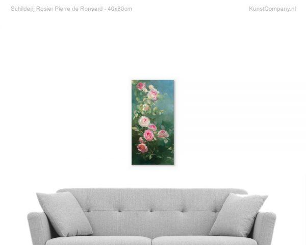 schilderij rosier pierre de ronsard