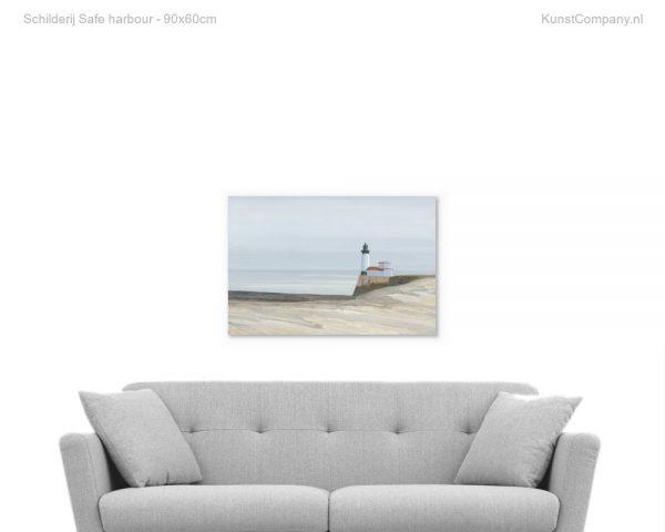 schilderij safe harbour
