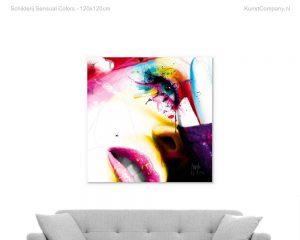 schilderij sensual colors