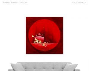 schilderij serenite