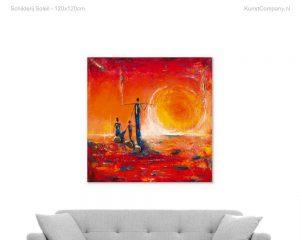 schilderij soleil