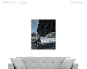 schilderij solitude