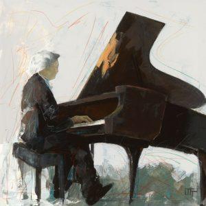 schilderij sonate