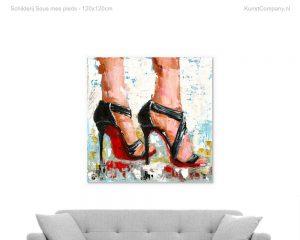 schilderij sous mes pieds