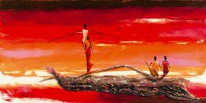 schilderij spectacle