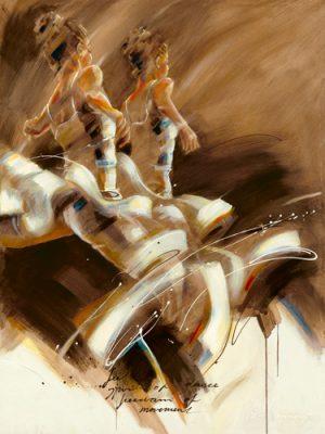 schilderij spirit of dance