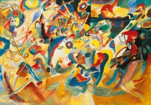 schilderij studie voor compositie vii