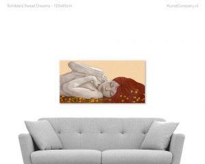schilderij sweet dreams