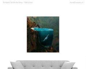 schilderij tell me the story