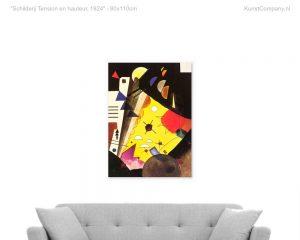 schilderij tension en hauteur