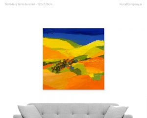 schilderij terre de soleil