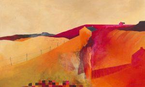 schilderij territorial landscape
