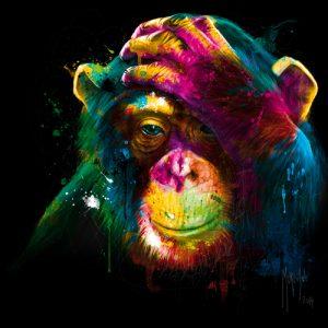 schilderij the darwins preoccupations
