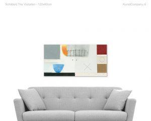 schilderij the visitation