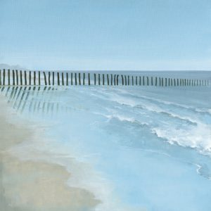 schilderij through the barrier
