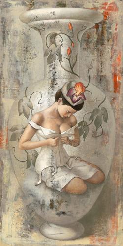 schilderij timidity