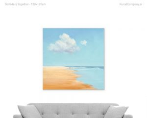 schilderij together