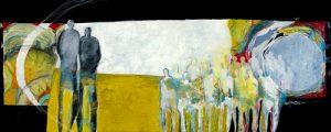 schilderij together again
