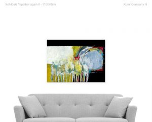 schilderij together again ii