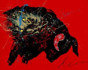 schilderij toro furia