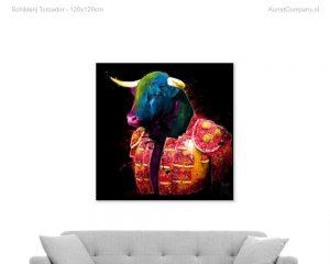 schilderij toroador