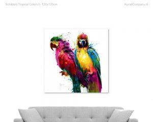 schilderij tropical colors i