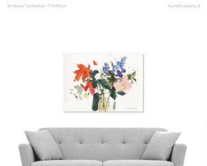 schilderij tuinboeket