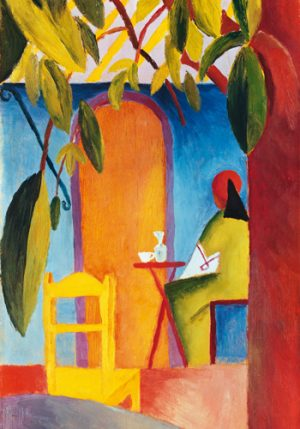 schilderij turkish cafe ii