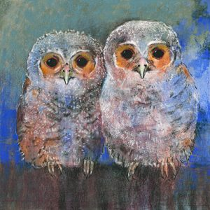 schilderij uilen