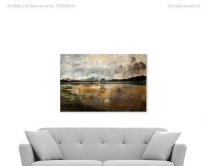 schilderij un pont en reve