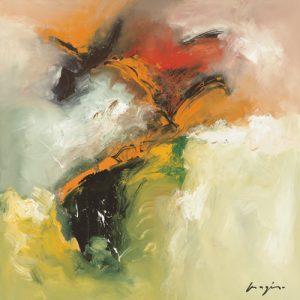 schilderij variations abstraites i