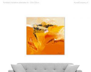 schilderij variations abstraites iii