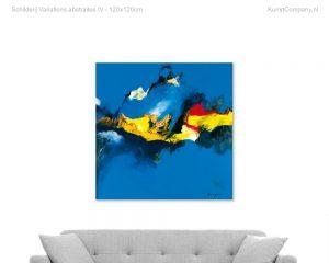 schilderij variations abstraites iv