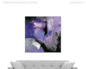 schilderij variations abstraites ix