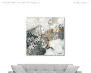 schilderij variations abstraites vi