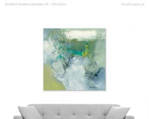 schilderij variations abstraites viii