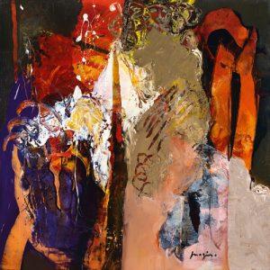 schilderij variations abstraites