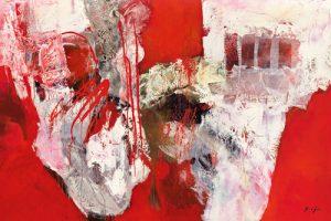 schilderij variations abstraitesiv