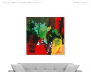 schilderij variations abstraitesviii