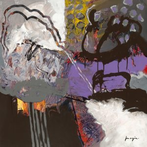 schilderij variations abstraitesx
