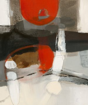 schilderij vergezicht iv