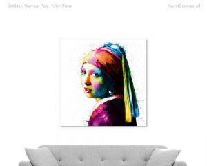 schilderij vermeer pop