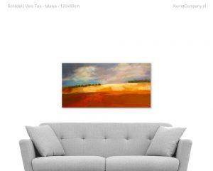 schilderij vers fes falaise