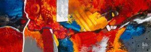 schilderij vie de joie