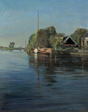 schilderij view on eastermar