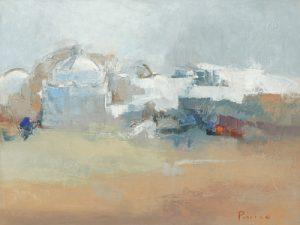 schilderij village du sud