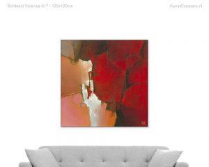 schilderij violence