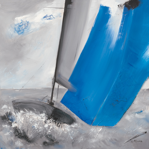 schilderij voile bleue ii