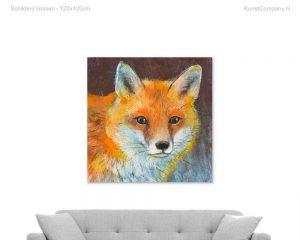 schilderij vossen