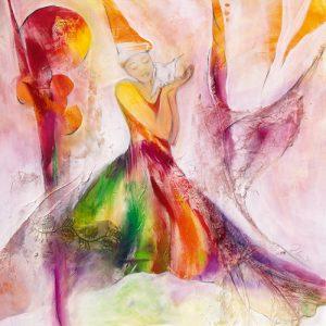 schilderij vrede en hoop